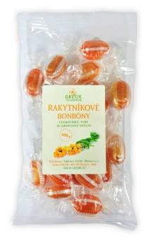 Rakytníkové bylinné bonbony 100 g GREŠÍK