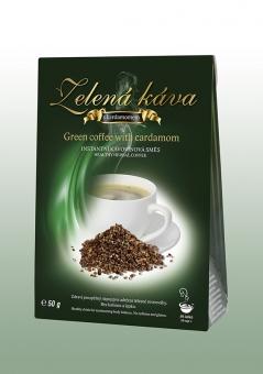 Zelená káva Kardamon 50g DNM
