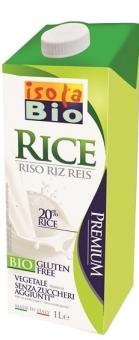 Rýžový nápoj přírodní Isola BIO 1l