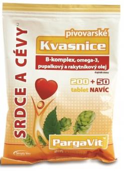 PargaVit Pivovar.kvasnice Bifi Omega Puls tbl.250