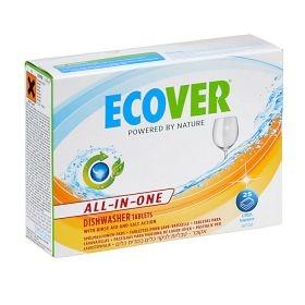 ECOVER tablety do myčky 25 ks - All in one 500 g
