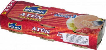 DIAMIR - Tuňák v rajčatové omáčce 80g - 6 pack/32