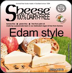 Veganská alternativa sýru edam style 227g SCHEESE