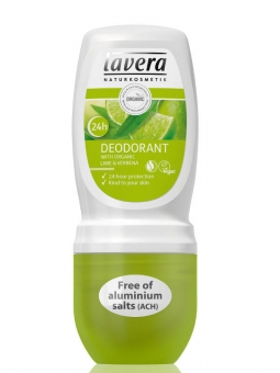 lavera jemný roll-on BIO Verbena -BIO Limetka 50ml