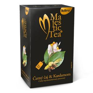 Černý čaj a kardamom 30g Biogena Majestic tea