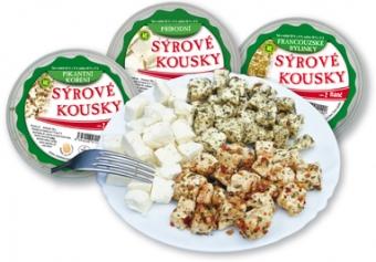 Nakládaný sýr - sýrové kousky