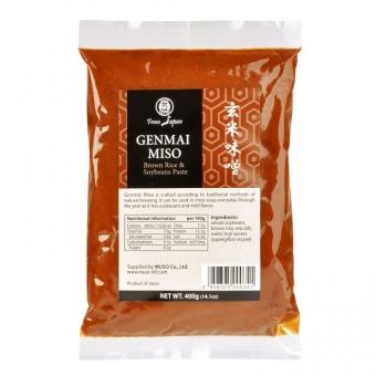 Miso genmai hnědá rýže 400 g MUSO