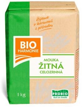Mouka žitná celozrnná 1 kg BIO BIOHARMONIE