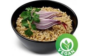 Celozrnný ryžový pilaf