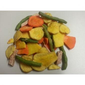 zelenina chips